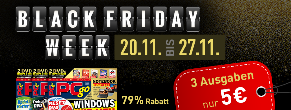 Black Friday Banner PCgo