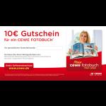 CEWE Fotobuch - 10 € Gutschein