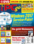 PCgo DVD Ausgabe: 01/2017