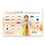 60 € Shopping BON