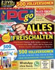 PCgo Premium Gold XXL mit 2 DVDs in jeder Ausgabe (inkl. online Zugriff) , 1 Jahres-DVD mit den PDF Ausgaben der letzten zwei Jahre sowie eine Prämie Ihrer Wahl.