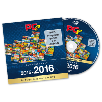 PCgo XXL-DVD: Jahresarchiv 2015/2016