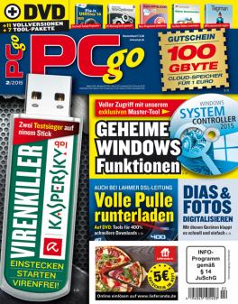 PCgo  Classic DVD mit einer Heft-Themen-DVD in jeder Ausgabe und eine Prämie Ihrer Wahl