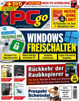 PCgo Classic DVD Mini-Abo mit Prämie