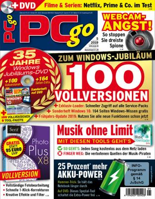 PCgo DVD