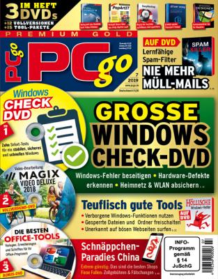 PCgo Print-Abo - Wählen Sie jetzt aus drei verschiedenen Varianten (DVD, Premium Gold oder XXL)