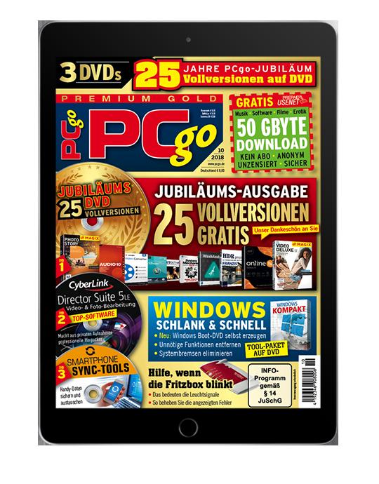 PCgo Premium Gold Digital-Abo