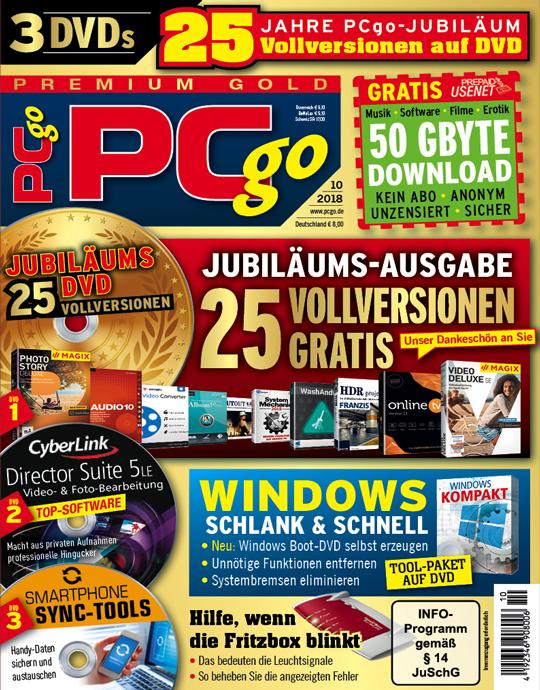 PCgo Premium Gold - 10/2018