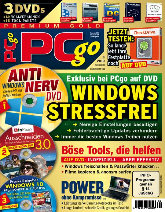 PCgo Premium Gold - 4/2019